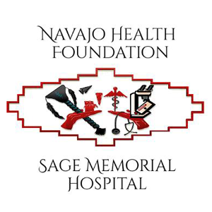 logo for the Navajo Health Foundation